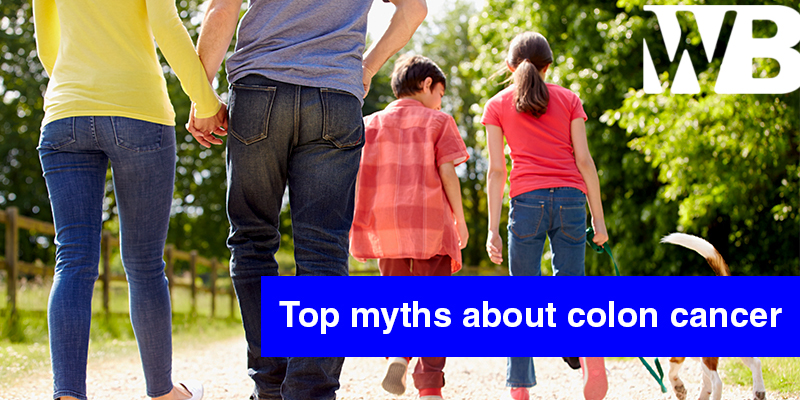 top myths about colon cancer